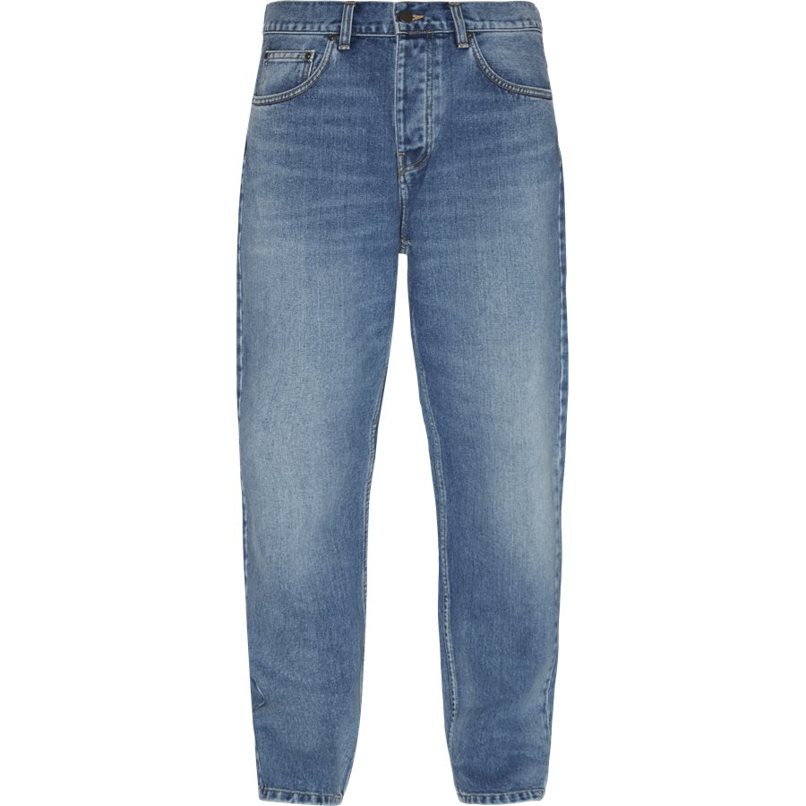 NEWEL PANT I024905 - Newel Pant - Jeans - Relaxed fit - BLUE WORN BLEACHED - 1